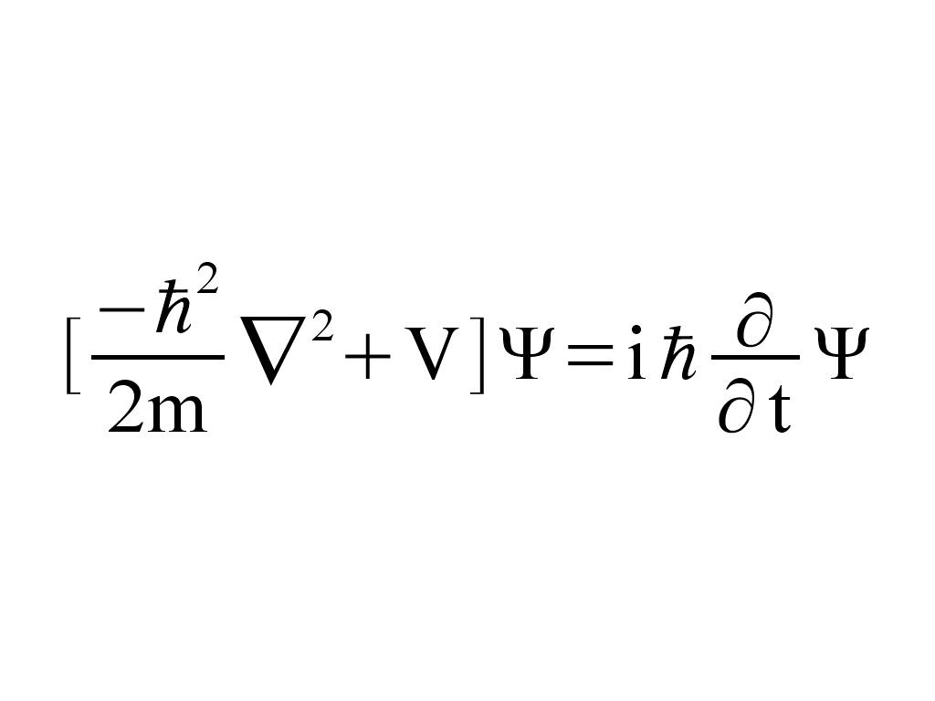 Quantum Mechanics Equation - Jennarocca