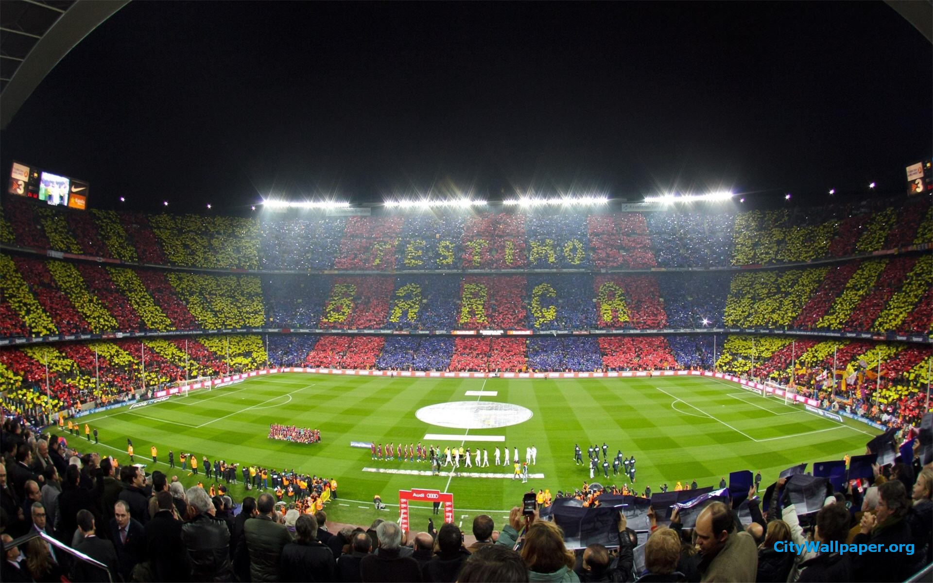 Camp Nou Barcelona Hd Wallpaper 1920x1200 1920x1200