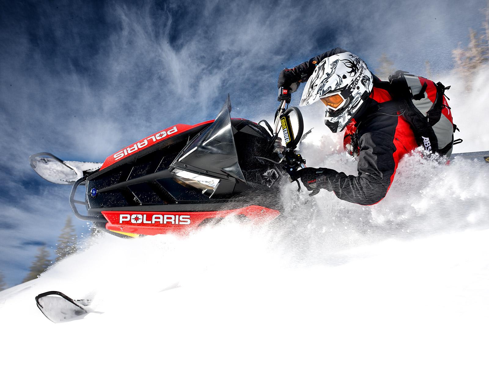 POLARIS PRO RMK snowmobile winter sled snow t wallpaper 1600x1200 1600x1200
