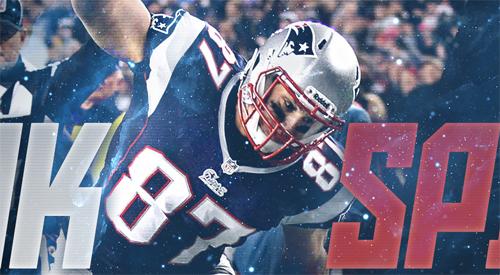 Gronk Spike Rob Gronkowski Patriots