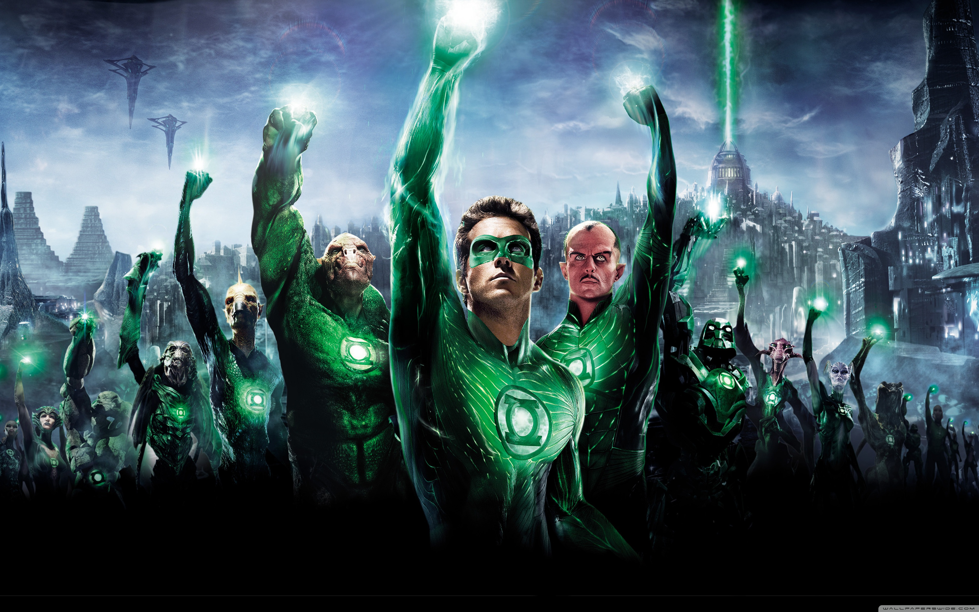Green Lantern Movie 2011 4K HD Desktop Wallpaper for 4K Ultra 3840x2400