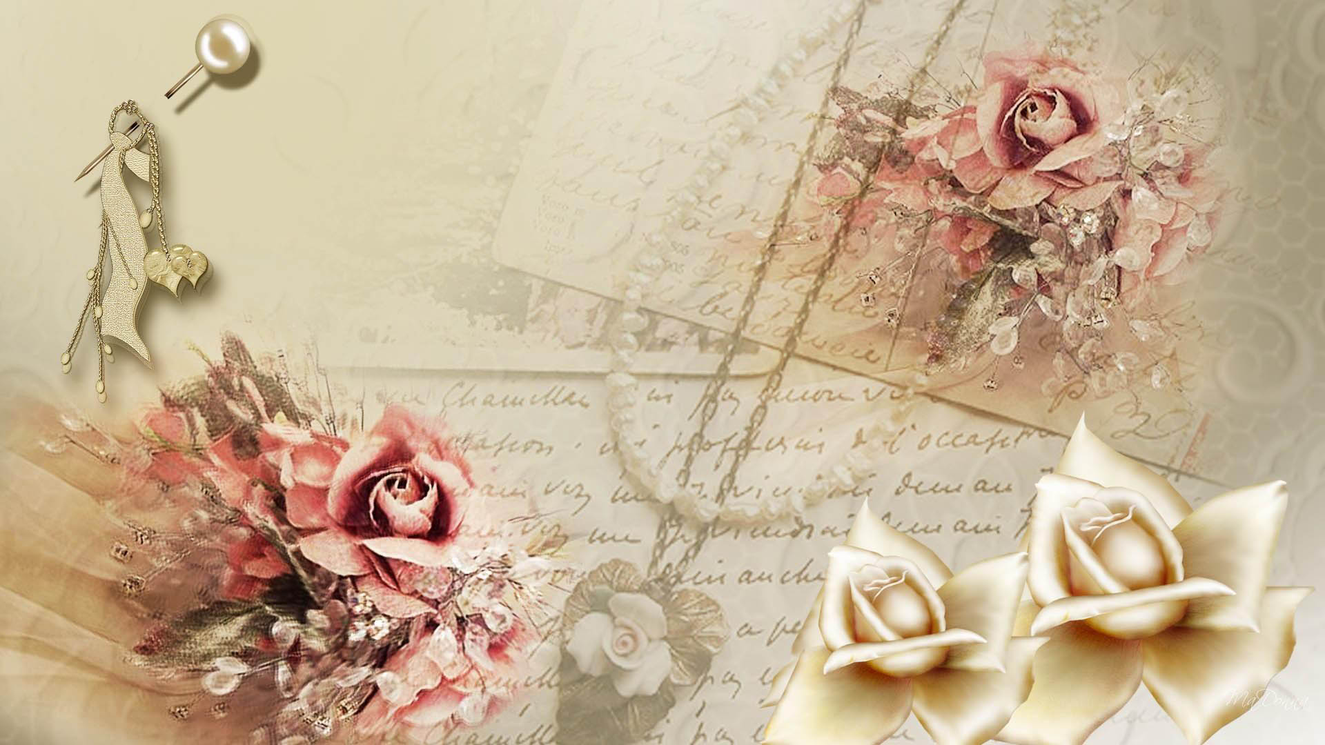 Vintage Rose Wallpapers Collection Daily Backgrounds in HD 1920x1080