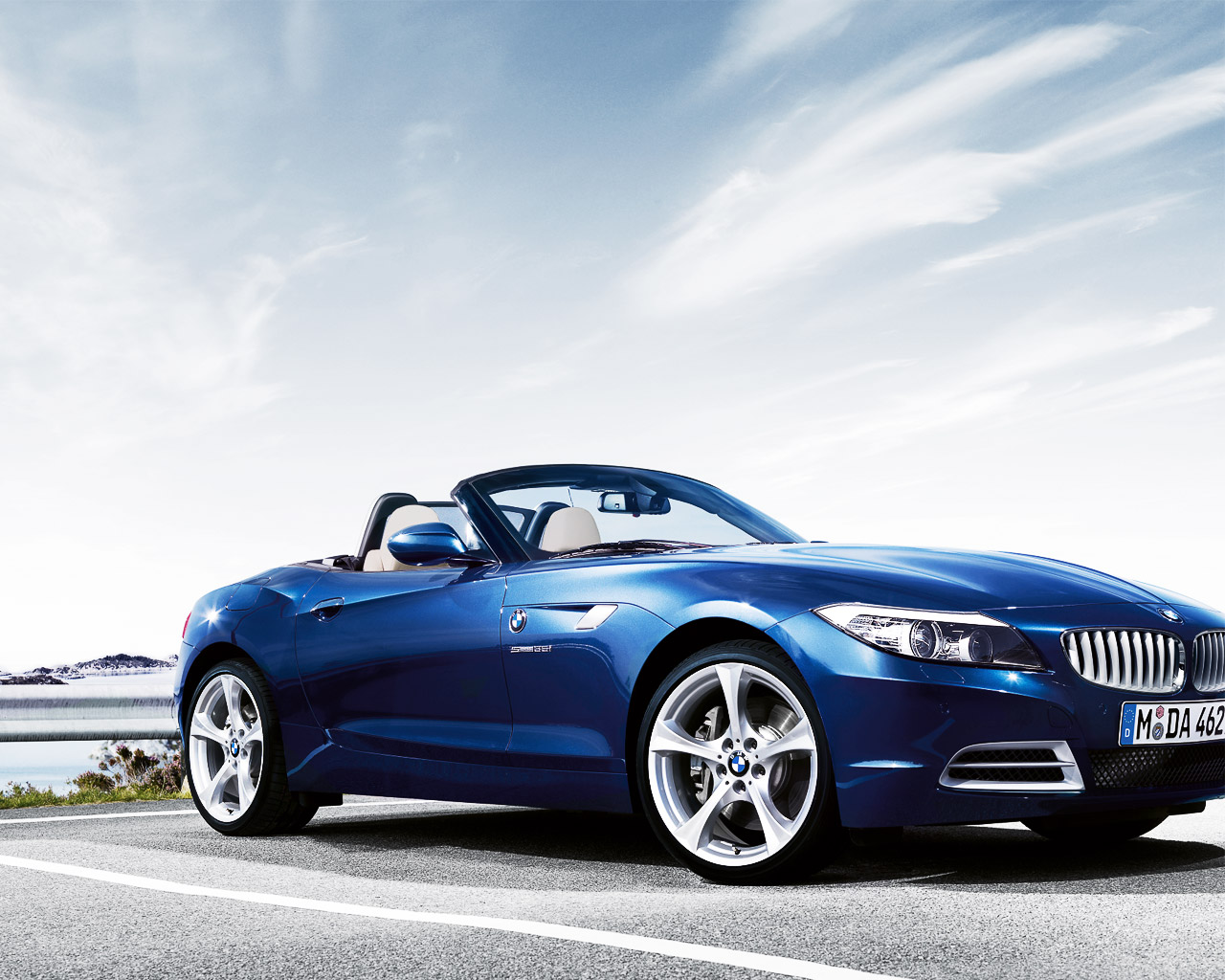 THE most amazing 2009 BMW Z4 wallpapers 1280x1024