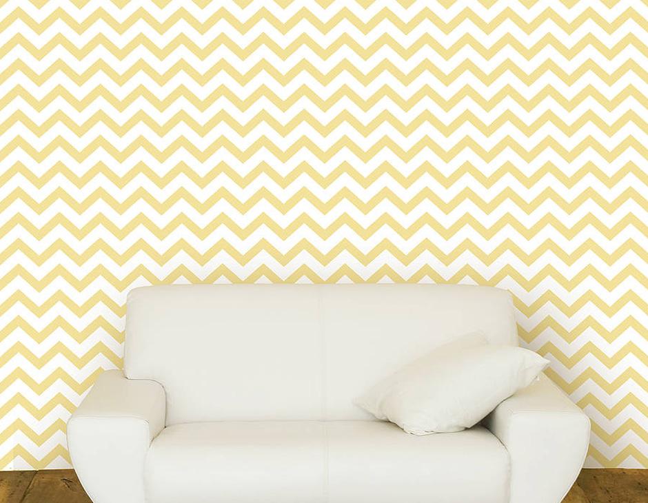 Contemporary Chevron Self Adhesive Wallpaper Contemporary Wall 940x730