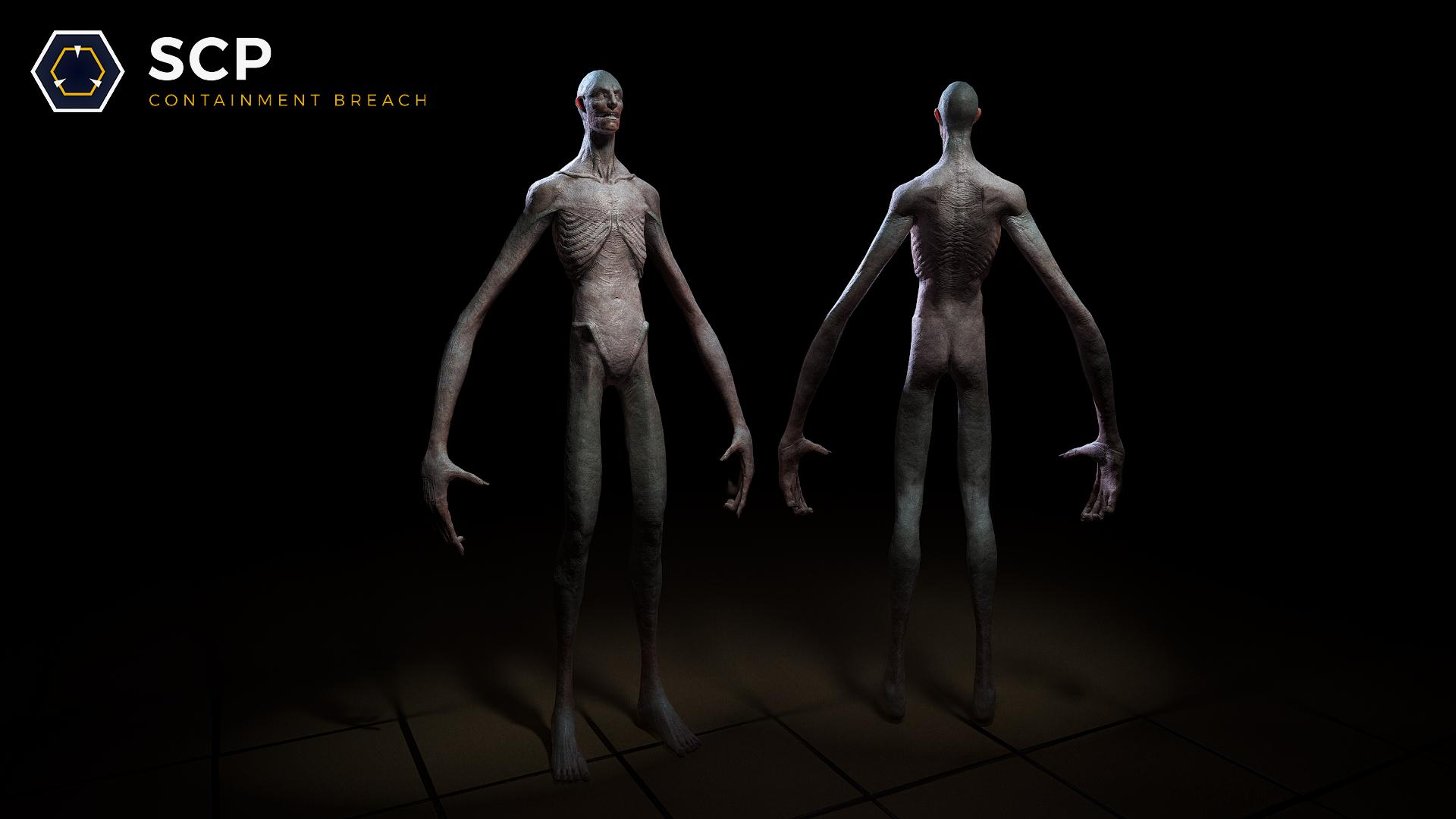 SCP Unity   SCP 096s finalized model More pics video in 1920x1080