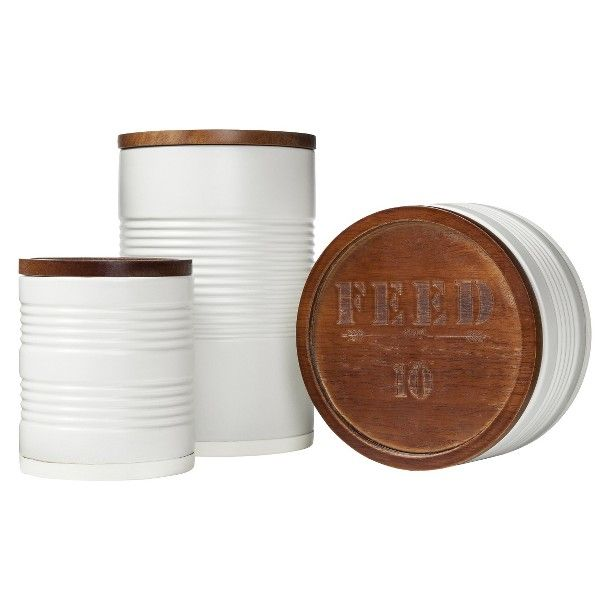 FEED for Target Ceramic Cannisters for the nest Pinterest 610x610