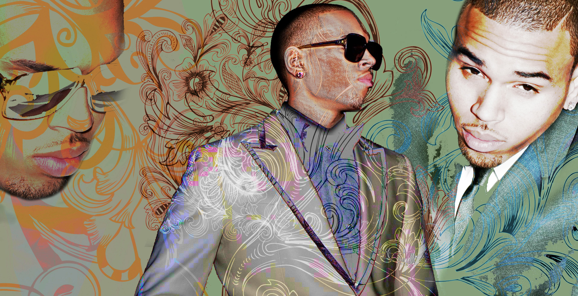 chris brown desktop backgrounds Wallpaper 1920x984