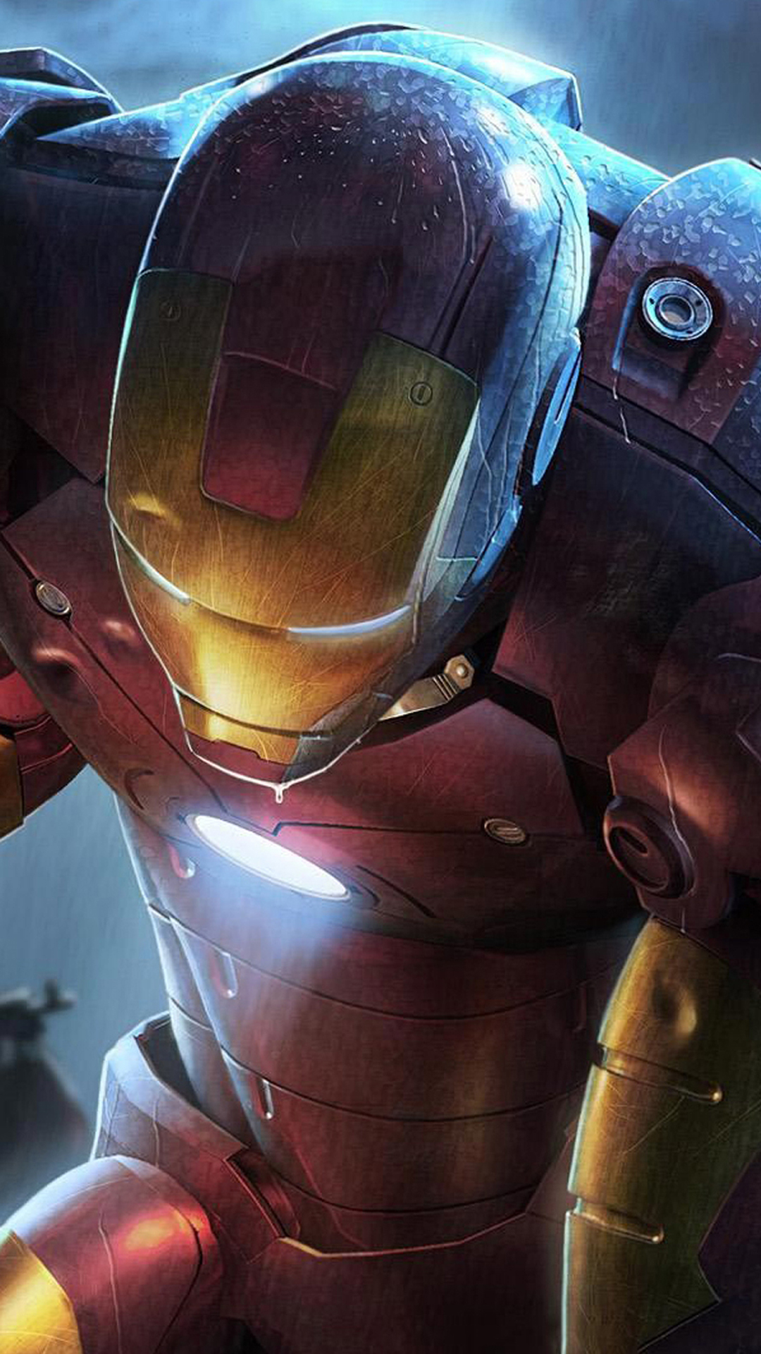 Iron Man Illustration android wallpaper HD 1080x1920