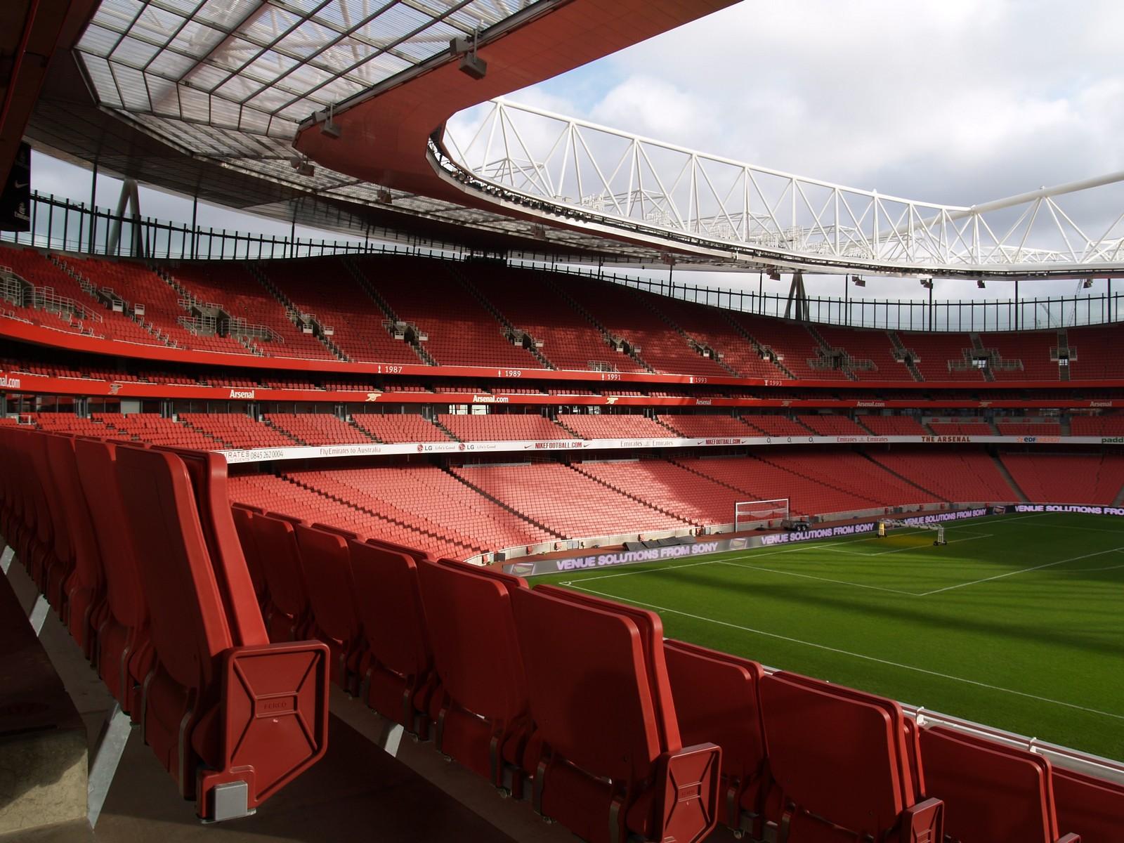 Emirates Stadium HD wallpaper Stadium wallpapers 1600x1200