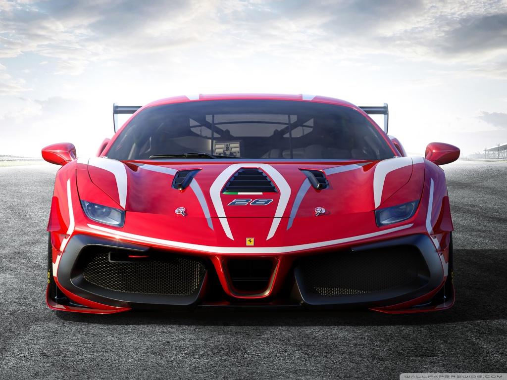 Ferrari 488 Challenge Evo Race Car 2020 Ultra HD Desktop 1024x768