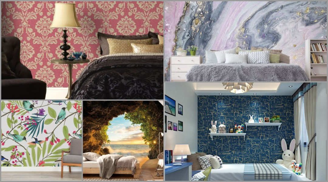 21 Fabulous Wallpaper Designs for Bedroom Walls Quotemykaam 1080x600