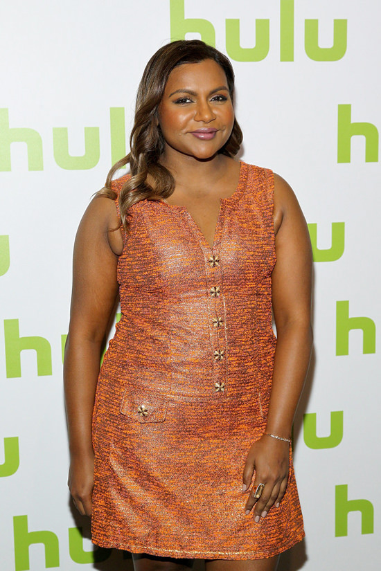 IN or OUT Mindy Kaling in Salvador Perez at the 2016 Hulu 550x825
