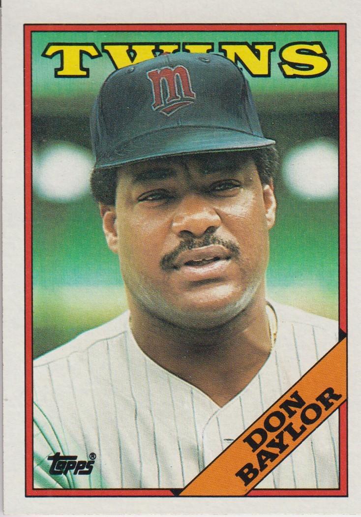 Don Baylor 1988 Topps Card 545   Baseball 734x1051