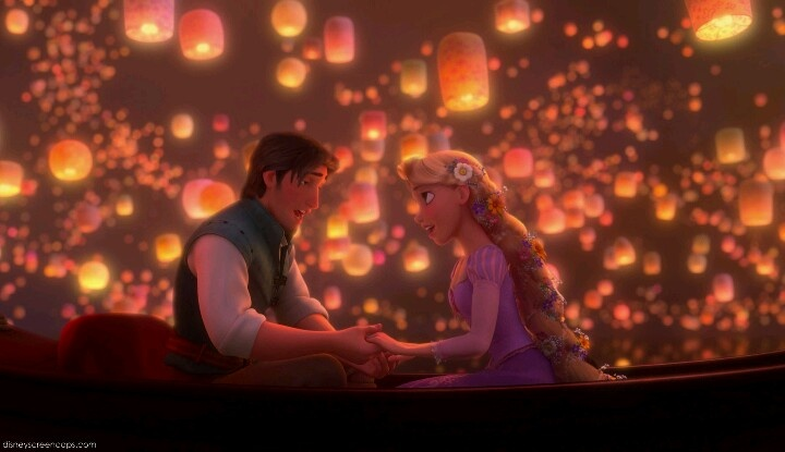 tangled floating lanterns desktop wallpaper wallpapersafari
