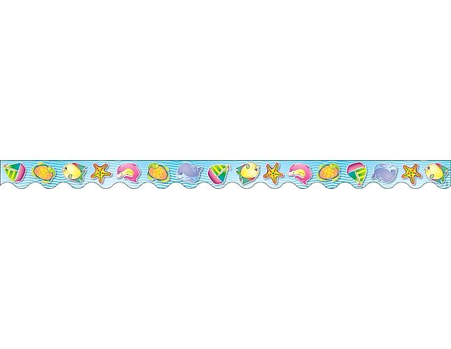 Sea Animals Border Happy Sea Animals Border Trim 648x501