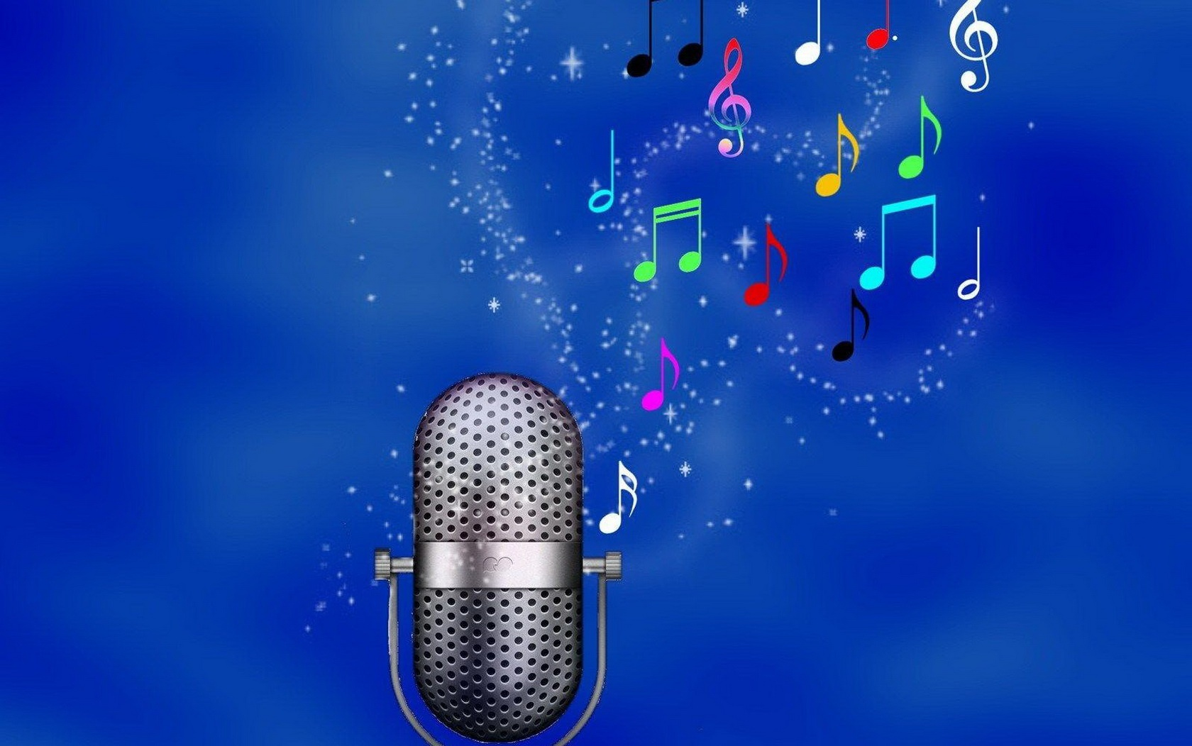 Wallpaper download music - Blue Music Notes Wallpaper Download Music Wallpaper