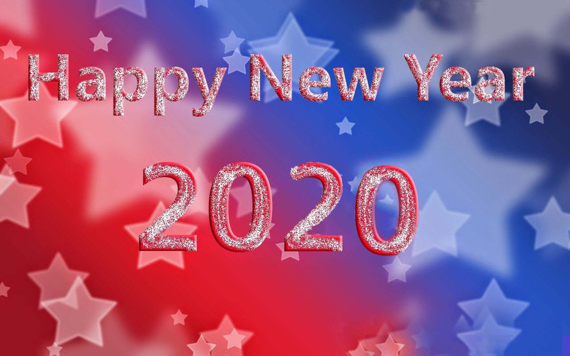 Happy New Year 2020 Greeting Card For Android Mobile Phones Hd 1920x1200