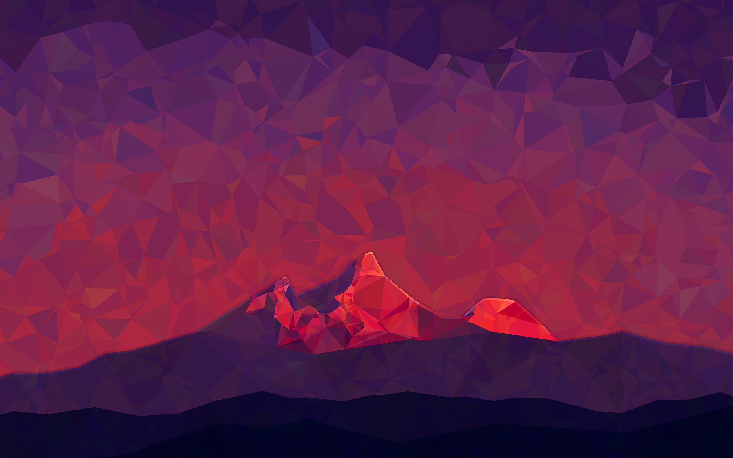 polygon mountain wallpaper - photo #21