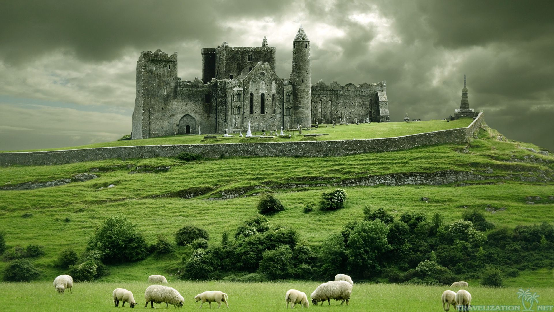 Irish landscape wallpaper wallpapersafari for Landscape pictures