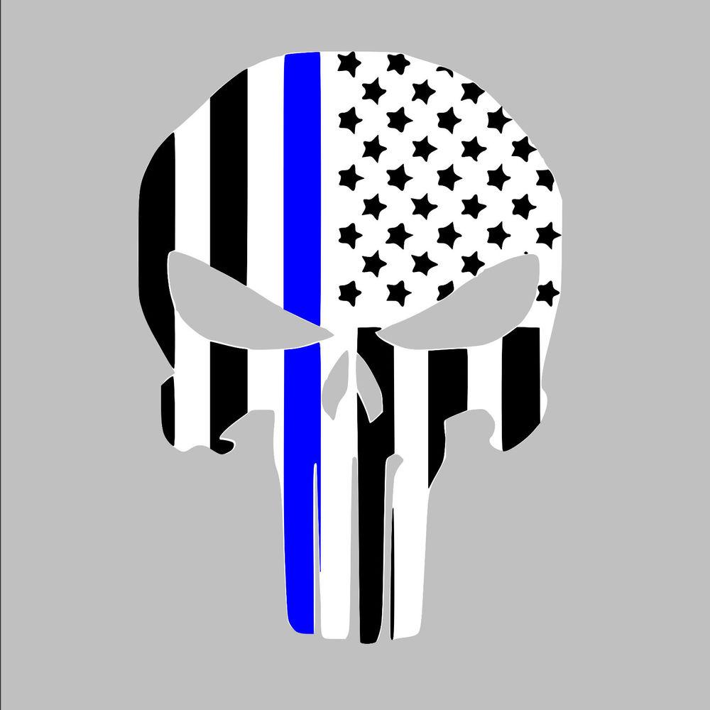 Blue Line Wallpaper: Blue Line Skull Wallpaper