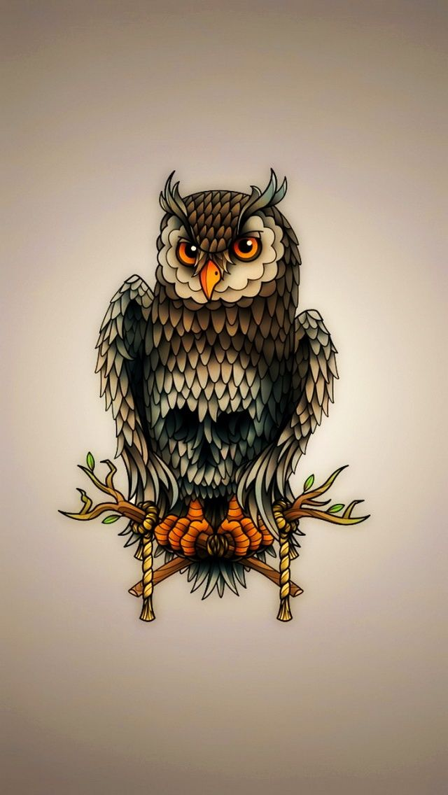 Owl Wallpaper For Iphone 6 Wallpaper Hd Co