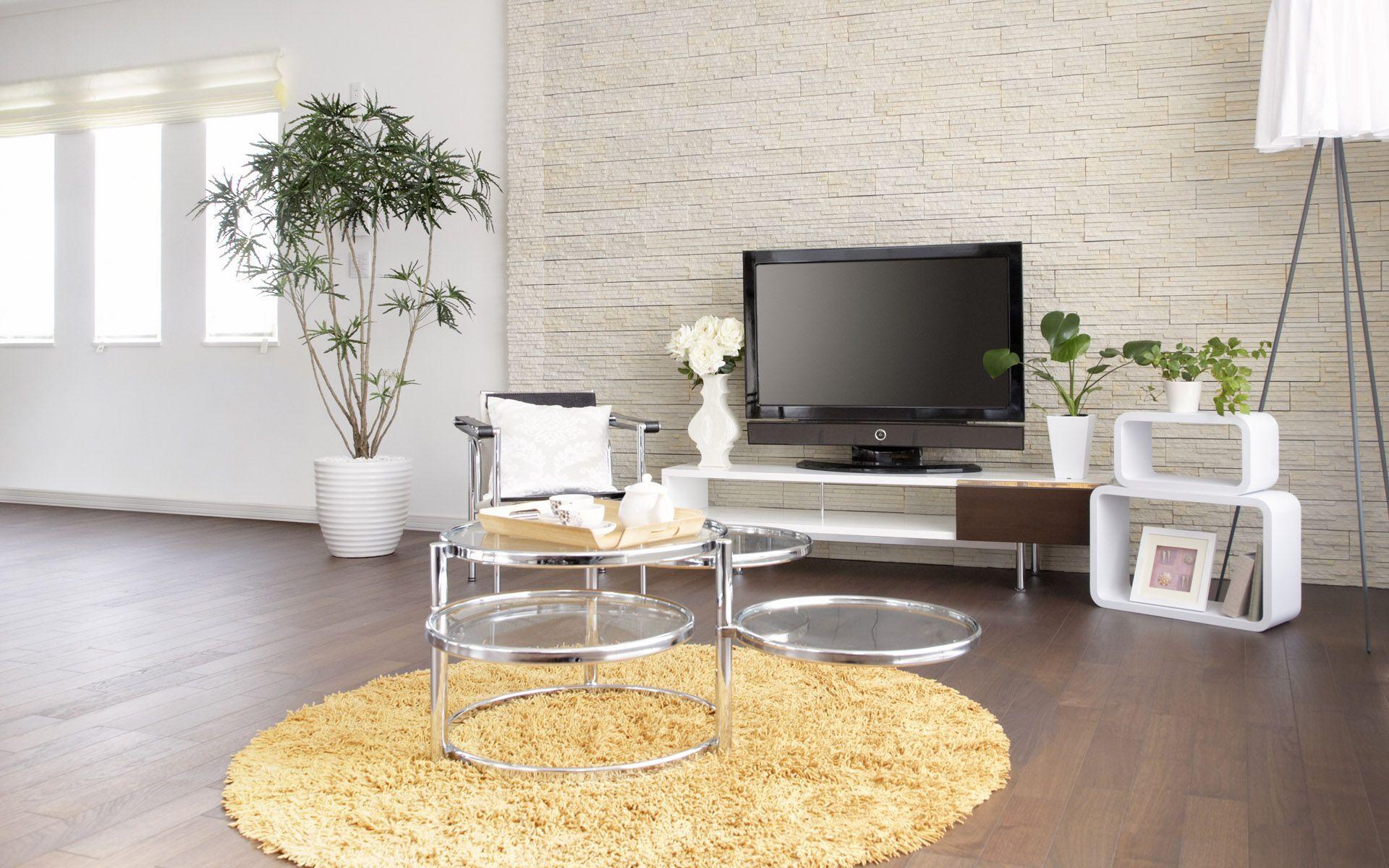 50 Contemporary Living Room Wallpaper On Wallpapersafari