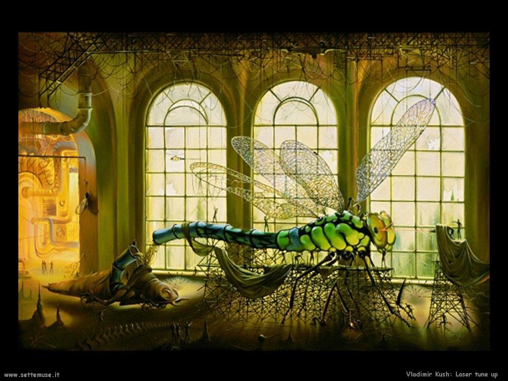 Pittura Vladimir Kush HD Walls Find Wallpapers 1024x768