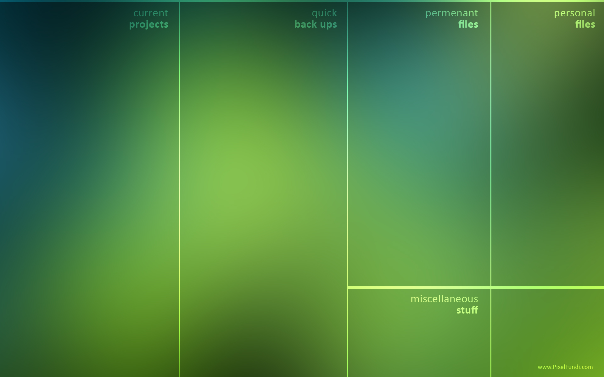 Productivity Desktop Wallpaper