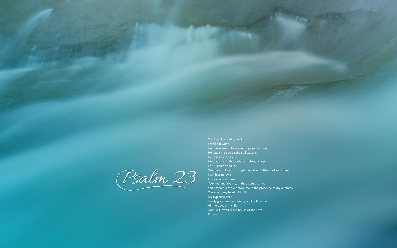 psalms 23 wallpaper wallpapersafari