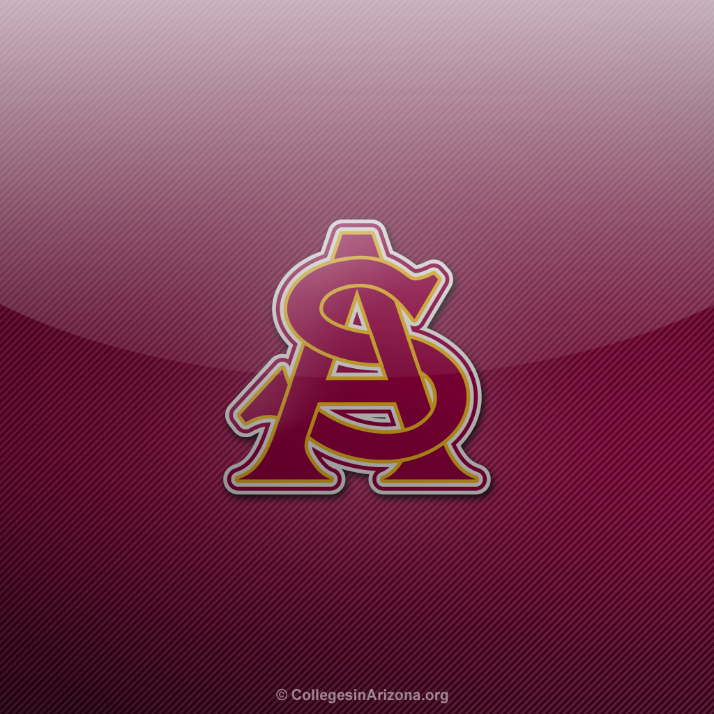 Arizona State University Logo Wallpaper Arizona state asu sun devils 1024x1024