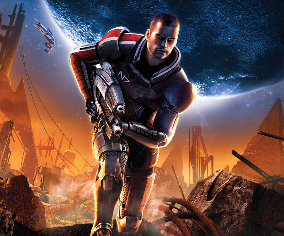 Mass Effect 2 Android Wallpapers 960x800 Hd Wallpaper For Mobile 960x800