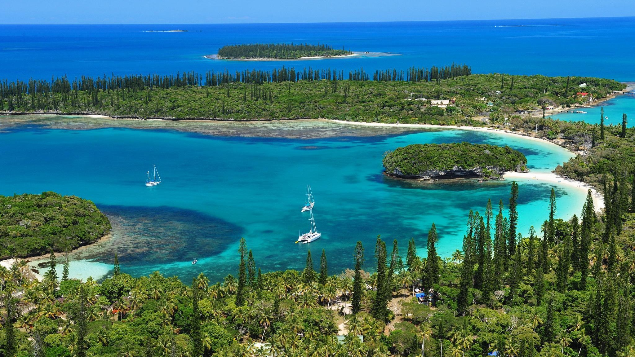 New Caledonia South Pacific wallpaper 2048x1152