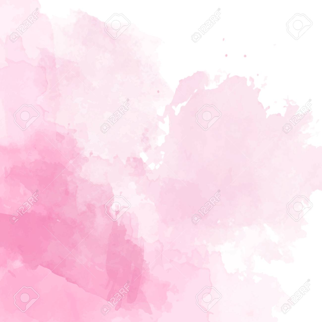 Pink Watercolor Background Vector Stock Photo Picture And Royalty 1300x1300