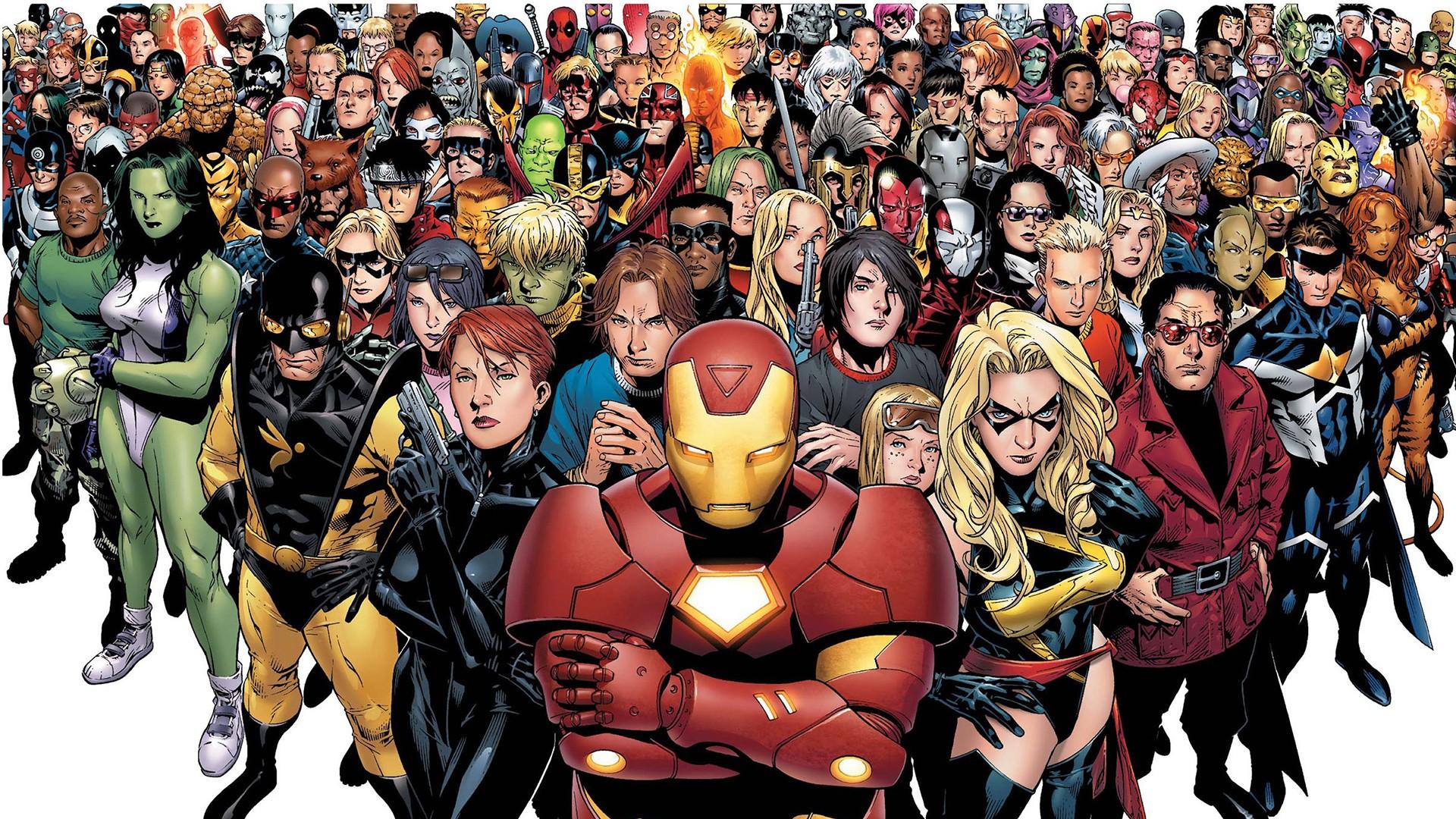 Marvel Civil War HD Wallpaper