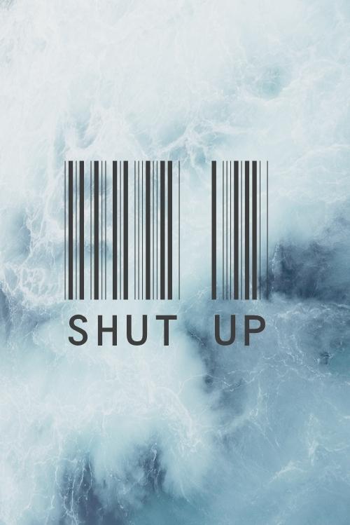 shut up sky soft grunge tumblr wallpaper water waves 500x749