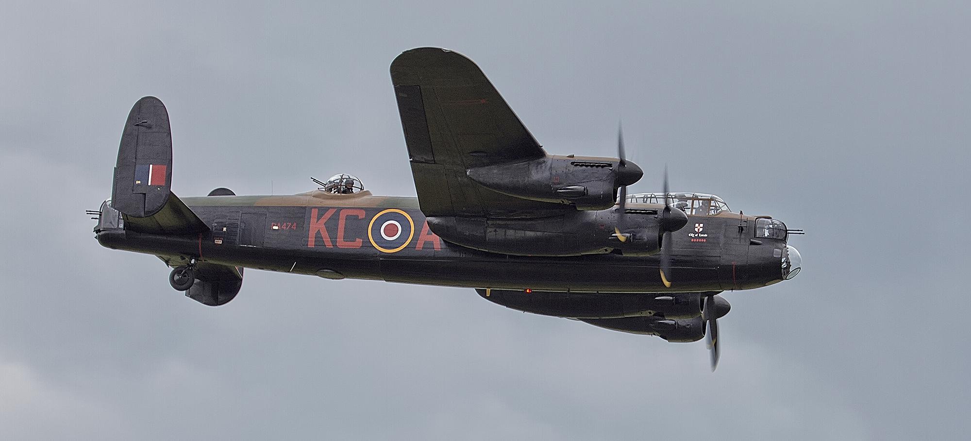 Download PA474 KC A Avro 683 Lancaster B1 Royal Air Force Battle of 2000x908