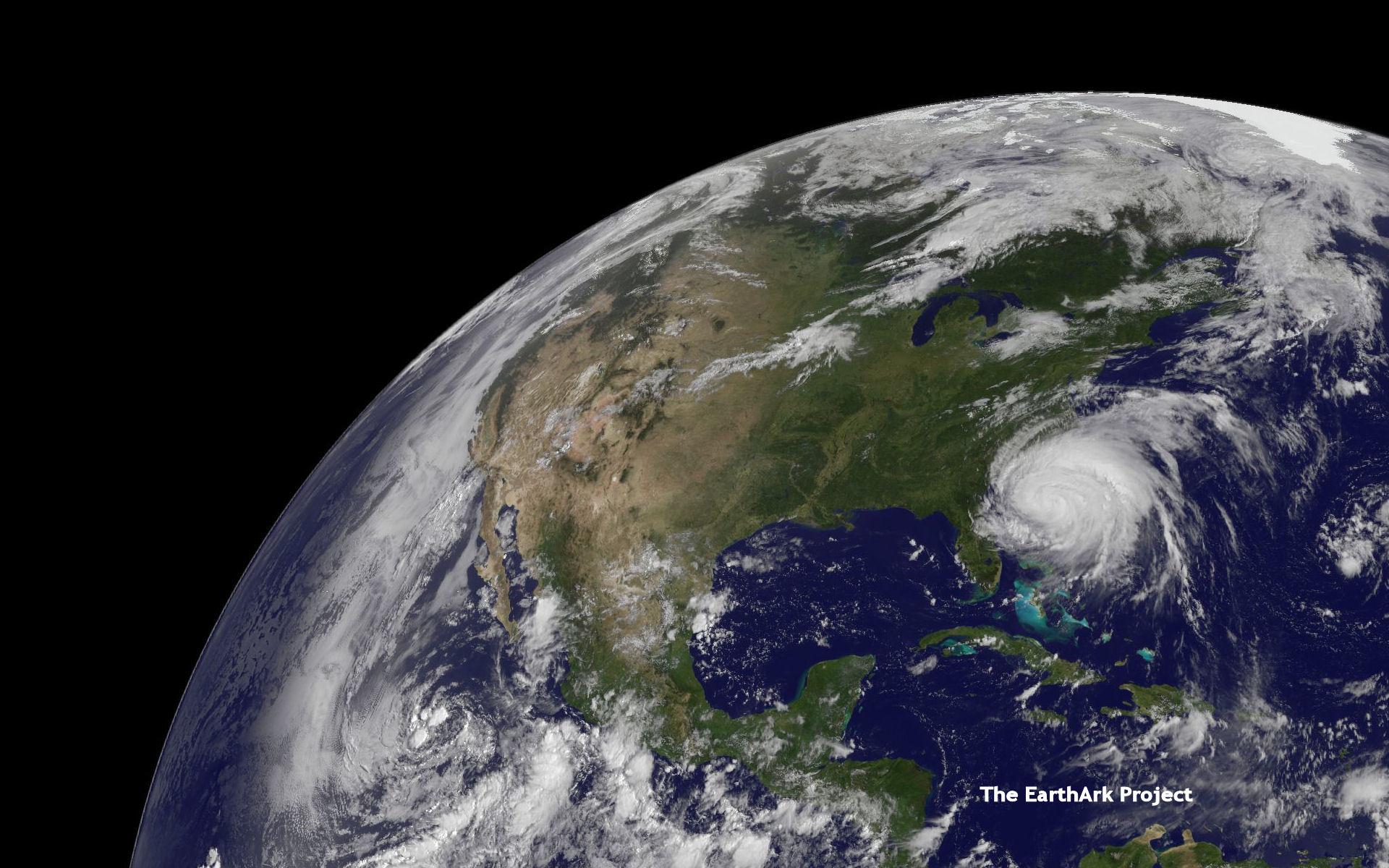 Hurricane Irene 1920x1200 designed as wallpaper Support The EarthArk 1920x1200