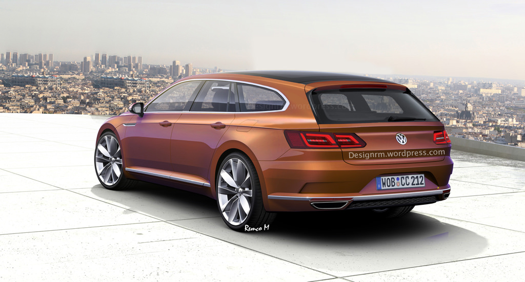 VW Arteon Shooting Brake Might Happen Not Inspired by CLS Class 1024x551