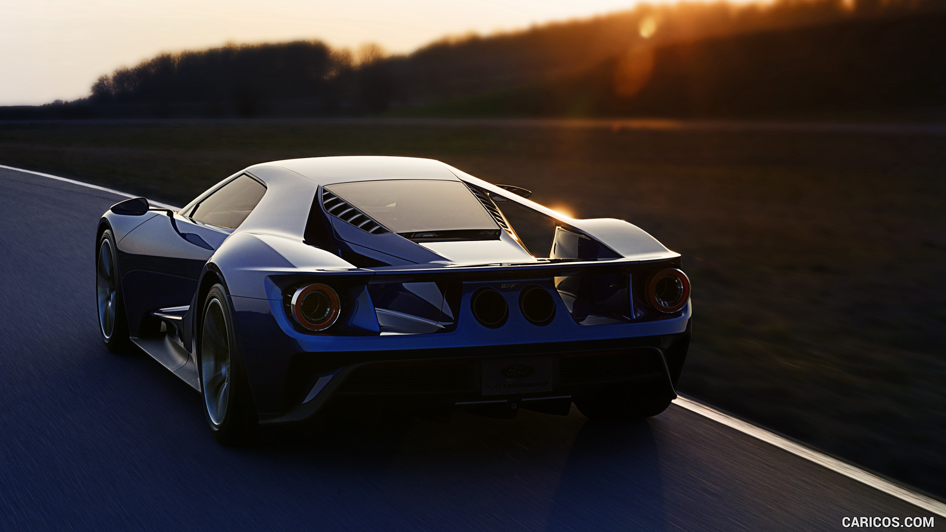 Free Download 2017 Ford Gt Rear Hd Wallpaper 19 1920x1080