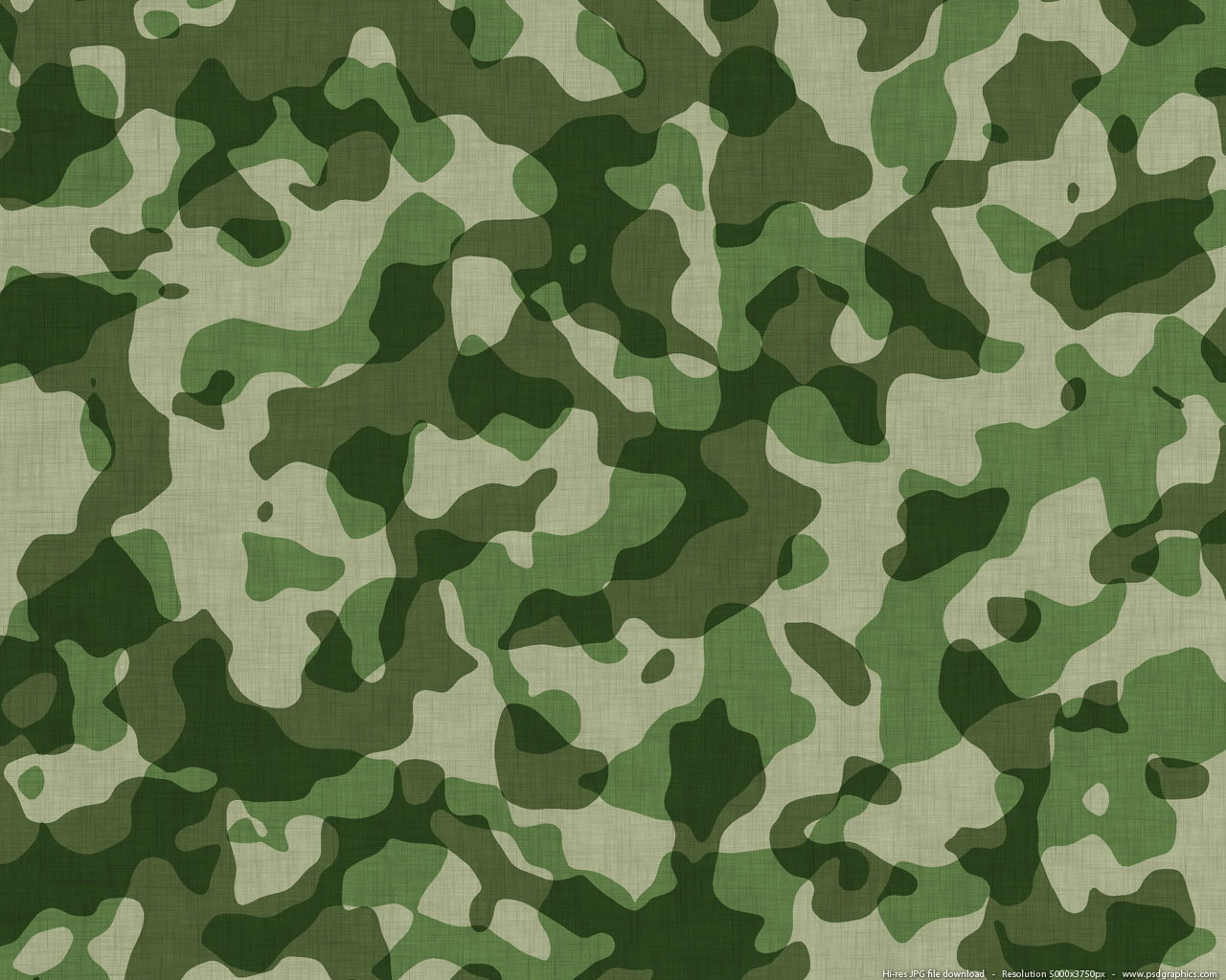 Military camouflage pattern PSDGraphics 1280x1024