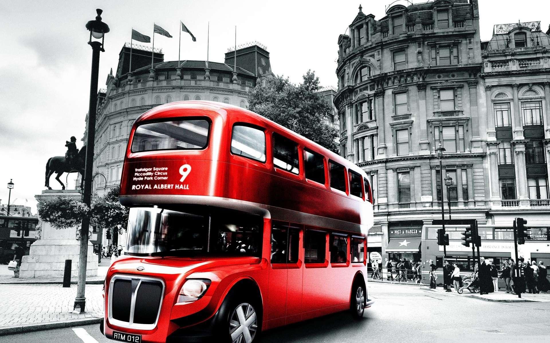 Download now Red London Bus Wallpaper 1080p HD Read description info 1920x1200
