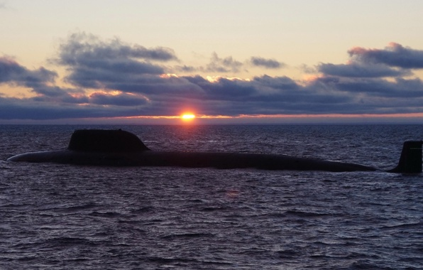 nuclear submarine boat fourth generation sea wallpapers photos 596x380