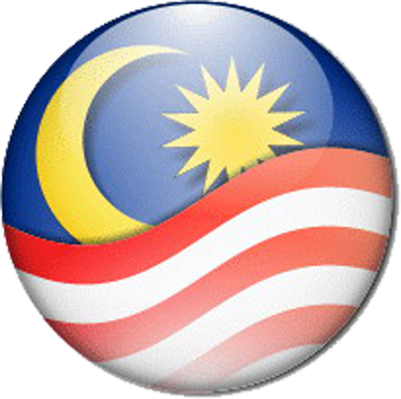 Wallpapers Flag of Malaysia goldoverblu 800x796