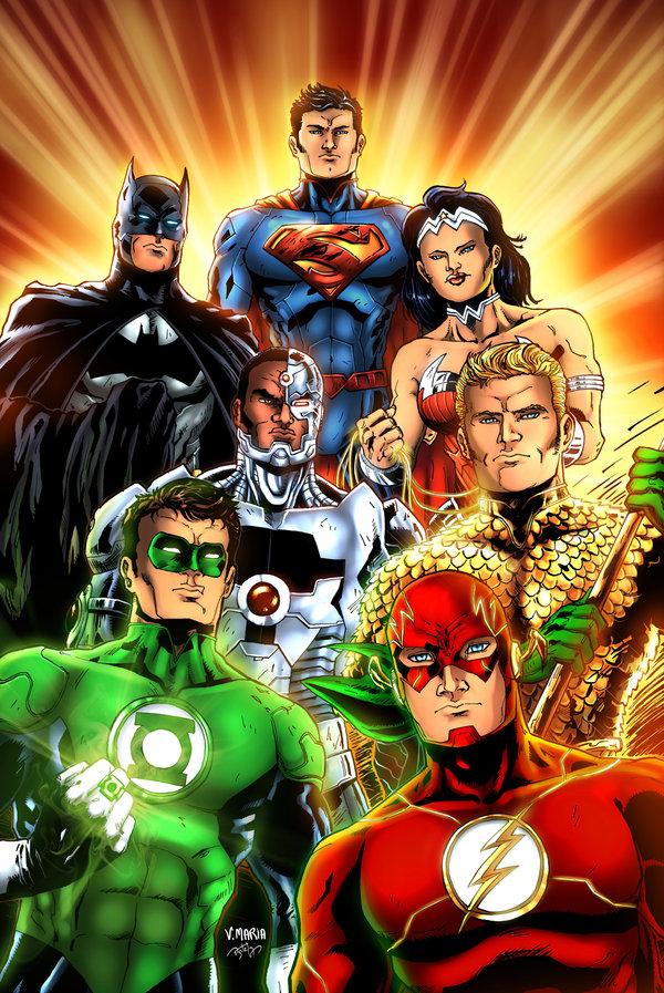 49 Justice League Wallpaper New 52 On Wallpapersafari