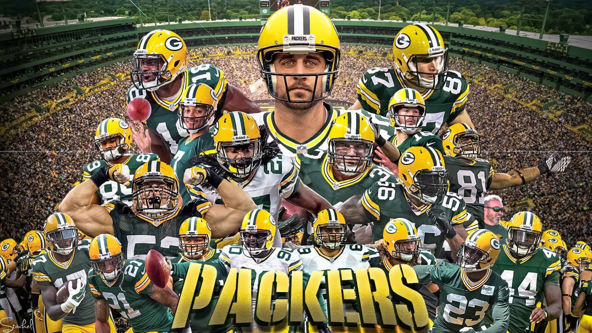 Wallpapers Green Bay Packers 41 Wallpapers Adorable 1919x1079