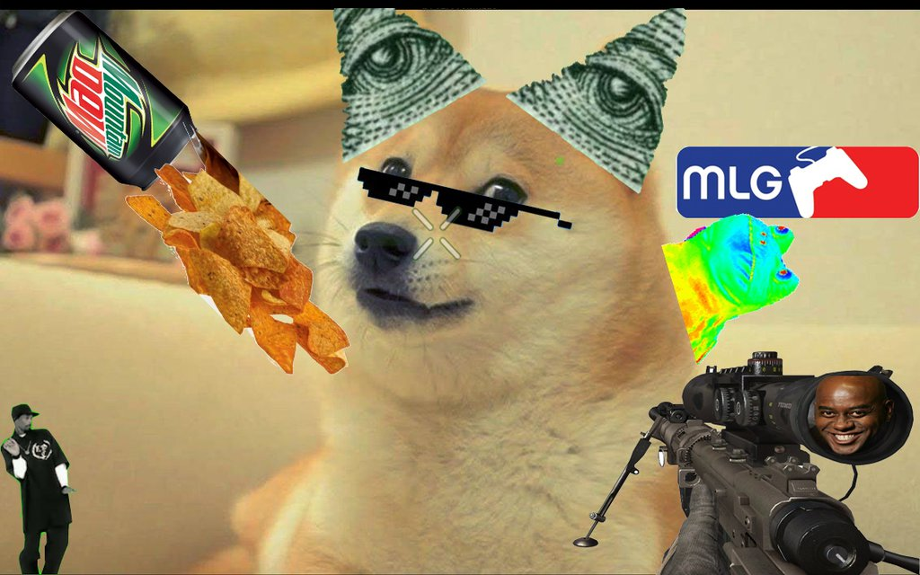 Showing Gallery For Mlg Doge Wallpaper 1024x640