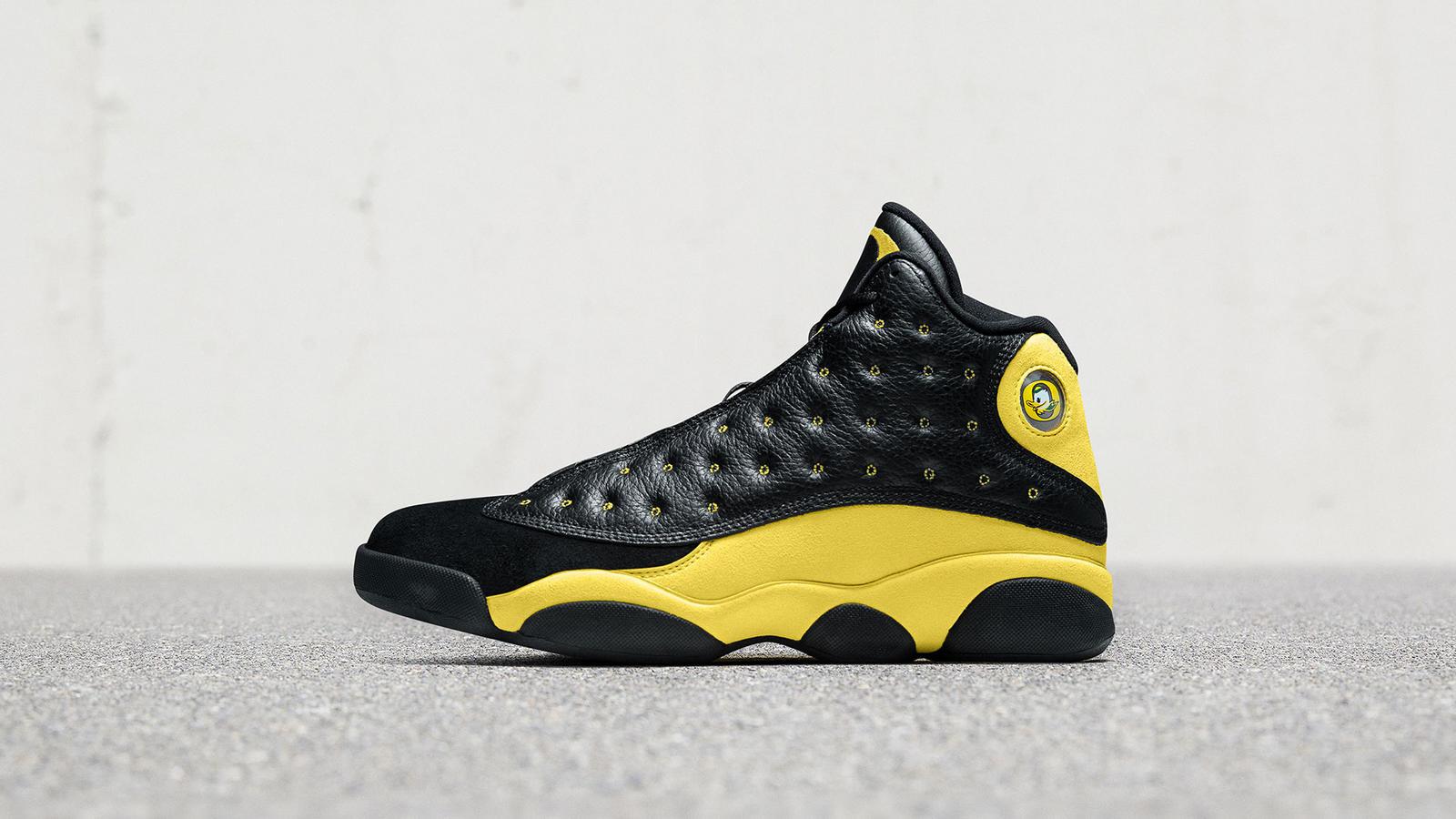 Jordan XIII University of Oregon Track and Field FF   Nike News 1600x900