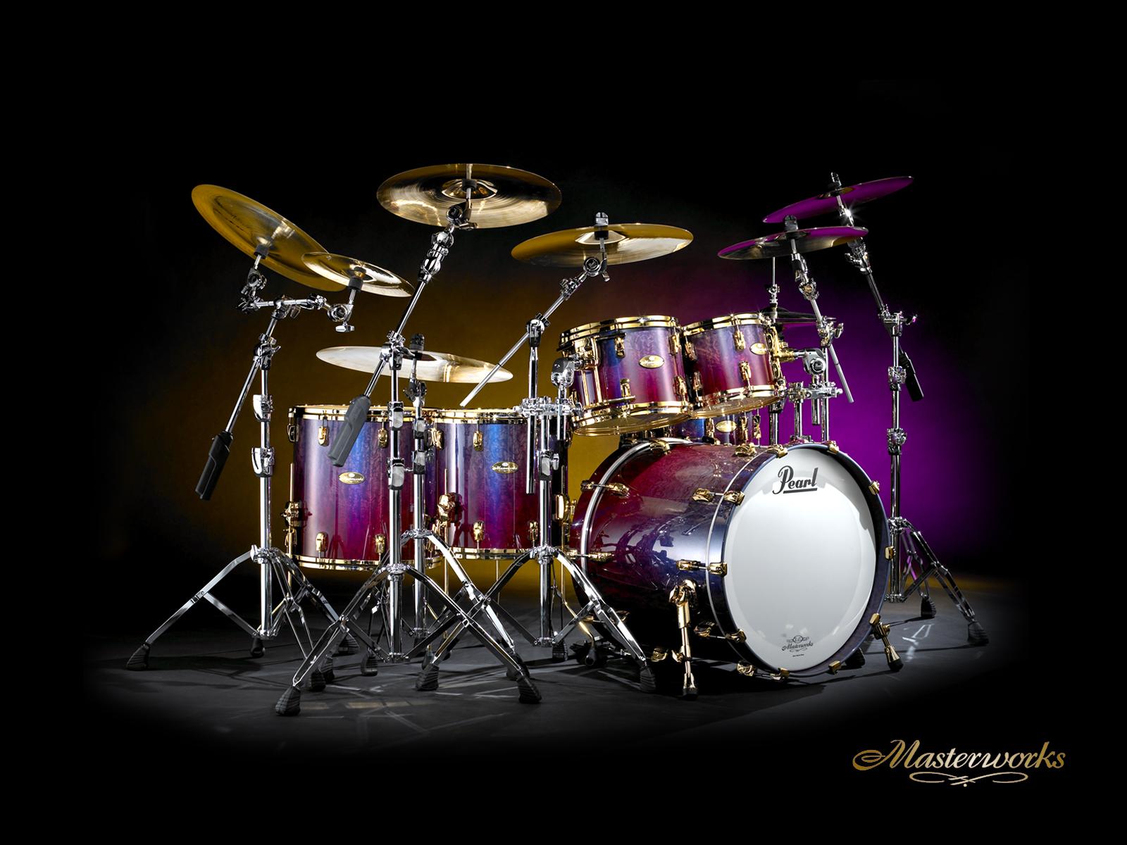 Desktop Wallpapers Pearl Drums 1600x1200