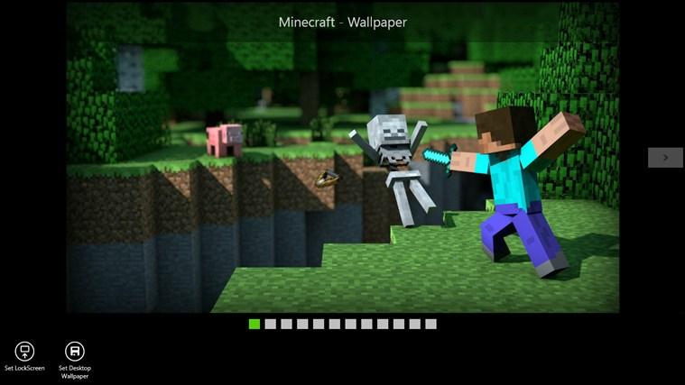 Minecraft   Wallpaper   Best Windows 8 Apps 759x427