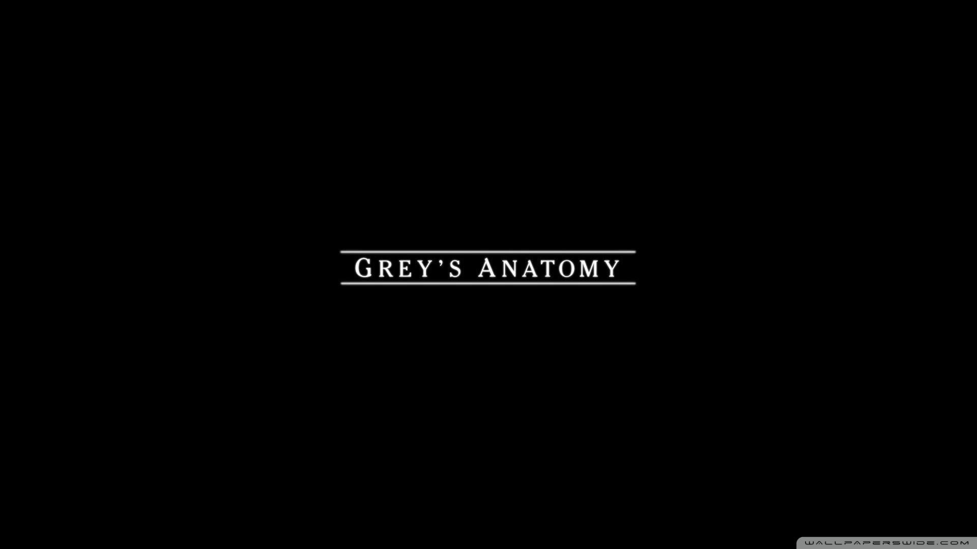 Greys Anatomy 4K HD Desktop Wallpaper for 4K Ultra HD TV 1920x1080